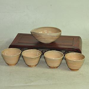 日本茶道茶具一套