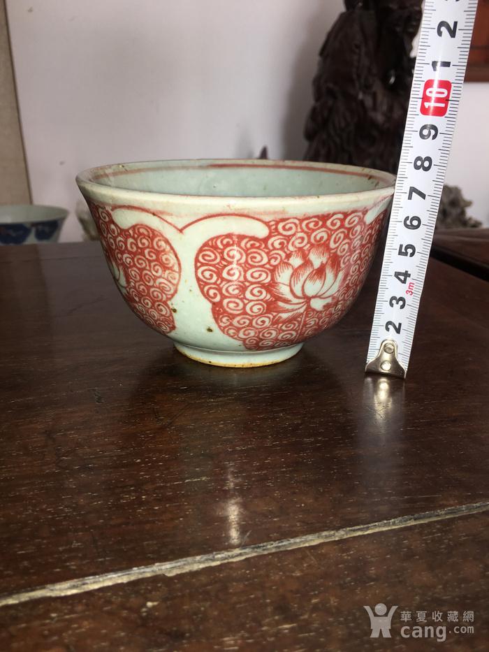 釉里红小碗图2