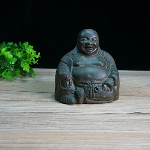 清铜弥勒佛像