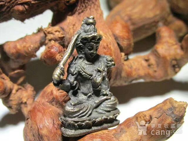 开门到代 晚清 铜质 降魔罗汉 坐像 做工精细 铸造精美 包浆老道图2