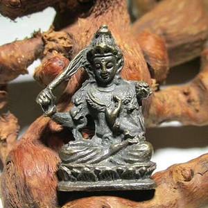 开门到代 晚清 铜质 降魔罗汉 坐像 做工精细 铸造精美 包浆老道