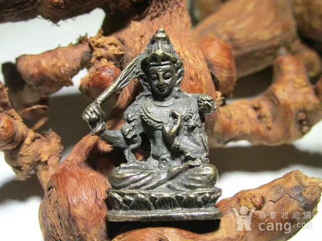 开门到代 晚清 铜质 降魔罗汉 坐像 做工精细 铸造精美 包浆老道图1