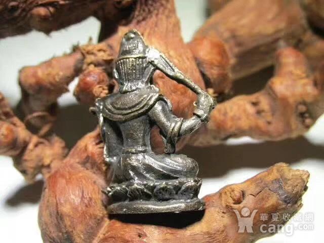 开门到代 晚清 铜质 降魔罗汉 坐像 做工精细 铸造精美 包浆老道图5