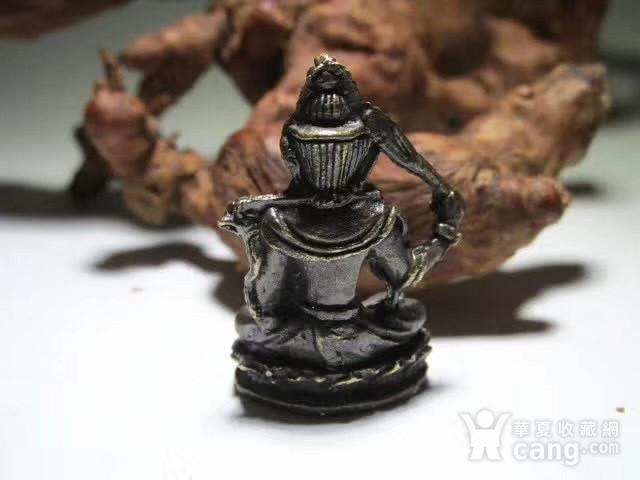 开门到代 晚清 铜质 降魔罗汉 坐像 做工精细 铸造精美 包浆老道图8
