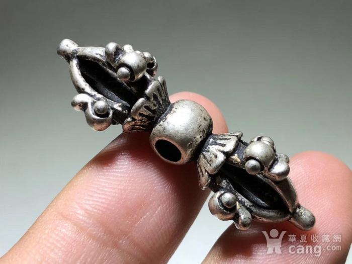 藏传 民国 降魔杵 手工雕刻 工艺精美 包浆老厚 降魔杵里面的精品图3