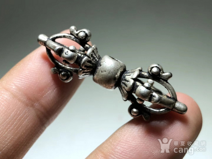 藏传 民国 降魔杵 手工雕刻 工艺精美 包浆老厚 降魔杵里面的精品图6