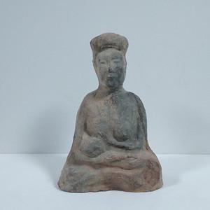 汉代哺乳陶俑