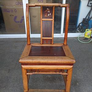 楠木嵌红木椅子