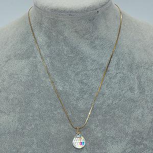 5.4克水晶吊坠项链