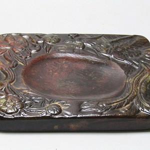 清代和田玉 玉砚台 包浆自然 浑厚 手感非常好 品相好 保存完整