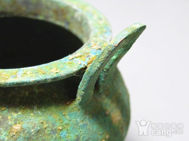 开门到代 双耳三足青铜鼎  铸造精美  包浆老道 品味十足图6