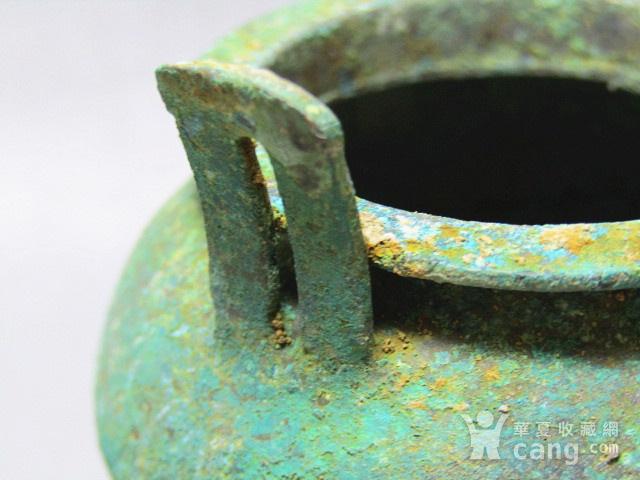开门到代 双耳三足青铜鼎  铸造精美  包浆老道 品味十足图7