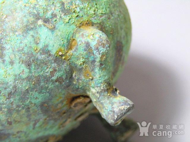 开门到代 双耳三足青铜鼎  铸造精美  包浆老道 品味十足图9