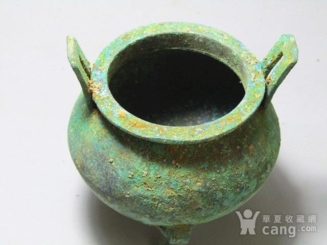 开门到代 双耳三足青铜鼎  铸造精美  包浆老道 品味十足图12