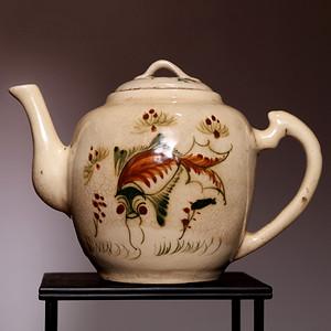 藏海淘 民国精美茶壶一把 专家已鉴定 HX94