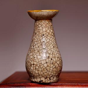 藏海淘 元哥窑小瓶 HX47
