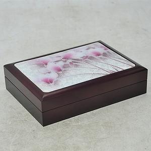 镶七宝烧木印泥盒