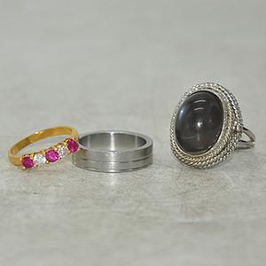 回流戒指三枚17.7克