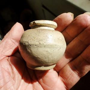 北宋定窑小瓷瓶