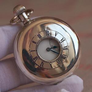 19世纪后期,纯银透脐大怀表