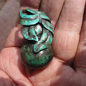 绿松石葫芦腰坠