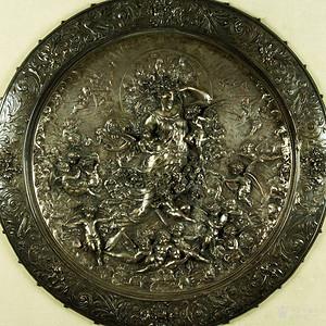 本场重器,18世纪英国铜板雕刻,天使群像