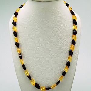 天然 琥珀项链v11 3