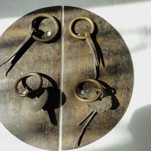 清民柜门铜件