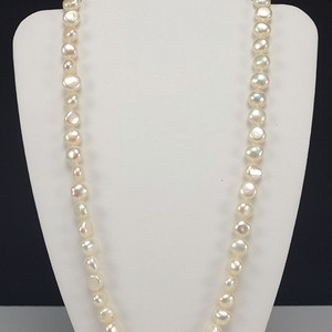 美国回流 精品 14K金天然珍珠项链