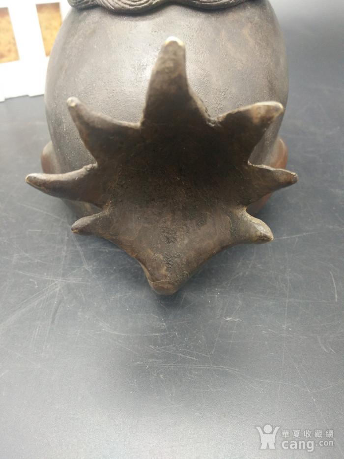清御制铜香熏炉图7