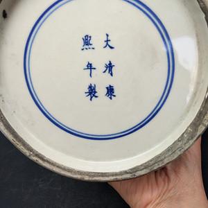 青花茶叶罐