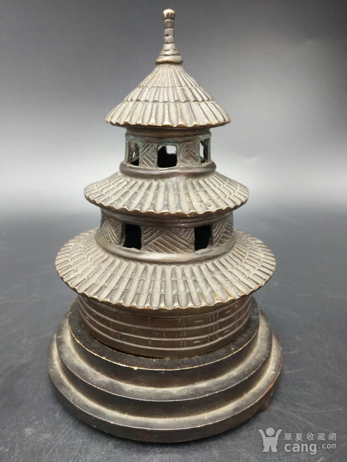 清金铜香炉图2