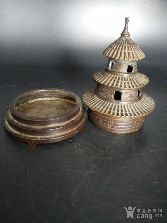 清金铜香炉图7
