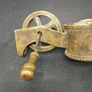 民国铜墨线盒