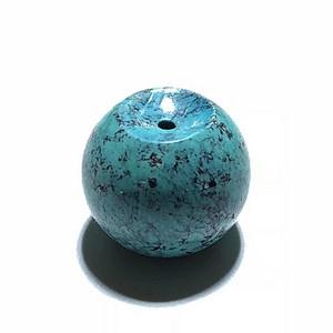 精品 云盖寺 原矿 高瓷高蓝 苹果圆珠 手工打磨 配串漂亮 玩出包浆更