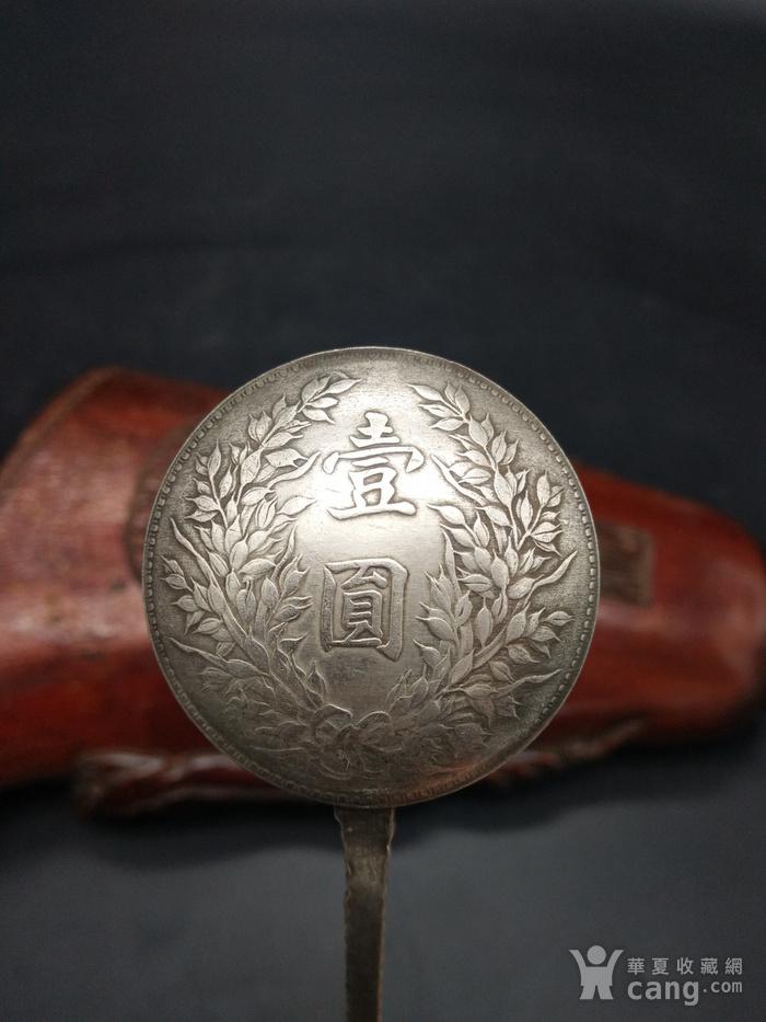 钱币银勺子图5
