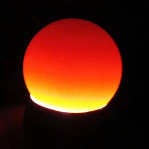 极品 真正极品 民国时期 正宗保山柿子红 色泽纯正 莹润至极 绝对称