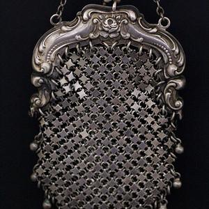 9 19世纪欧洲铜镀银零钱袋