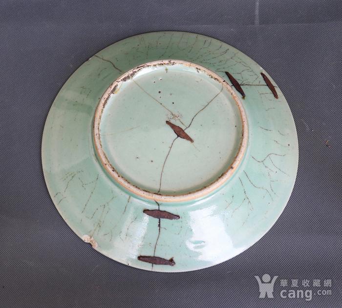 青花山水纹盘图5