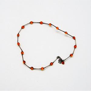 天然 琥珀项链