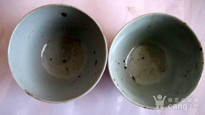 矾红太师少保茶碗2只图2