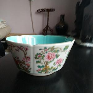 精品粉彩碗