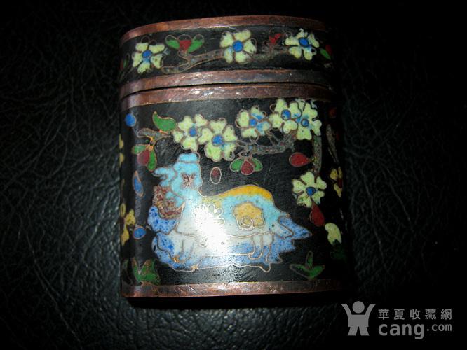 民国景泰蓝盒图1