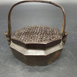 老铜暖手炉