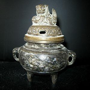 民国铜香炉