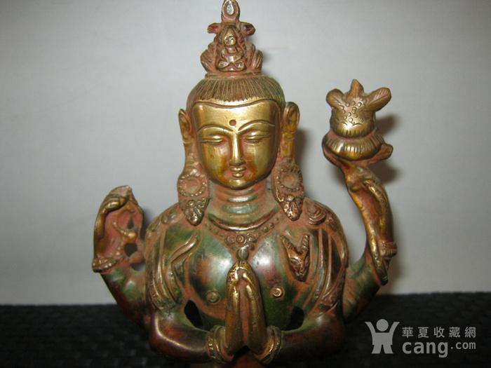 清代藏传铜佛图2