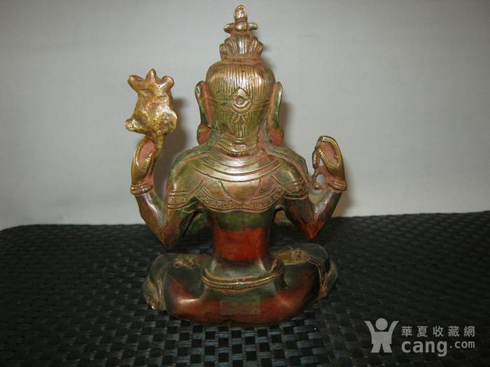 清代藏传铜佛图5