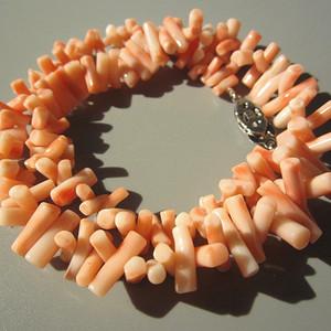回流 珊瑚 项链 终身保真38.8克