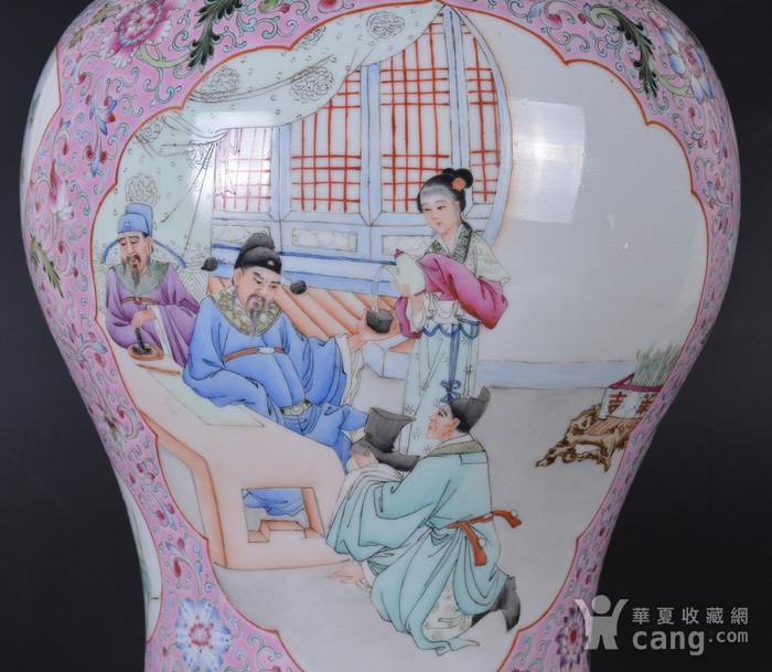 60年代 粉彩 李太白高力士 大将军罐图9