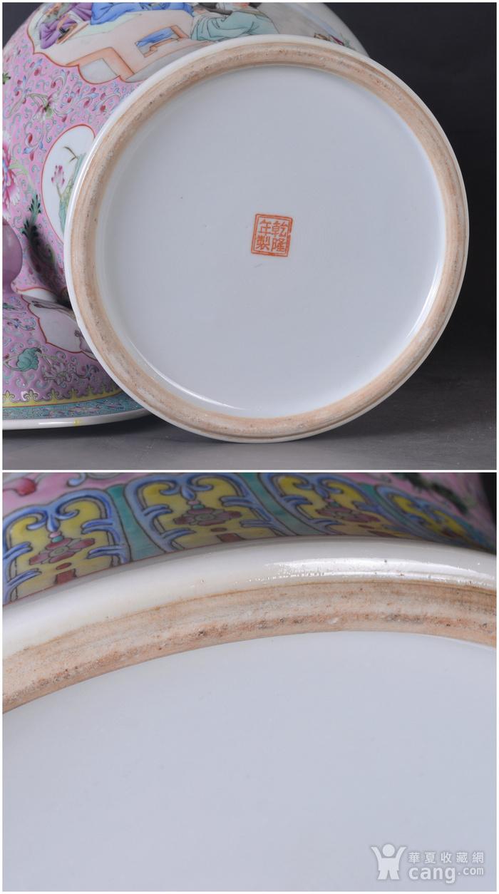 60年代 粉彩 李太白高力士 大将军罐图12